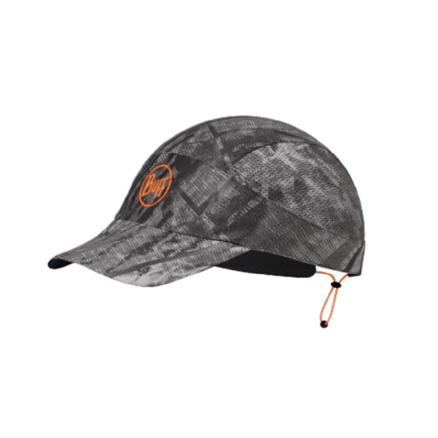Buff Packable Run Cap R-City Jungle Grey